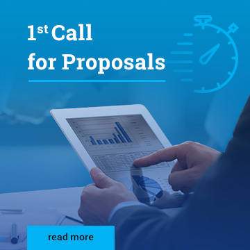 1st Call for proposals